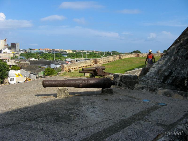 IMG_1268.JPG<br /> Cruising Colombia: Cartagena<br /> Castillo San Felipe