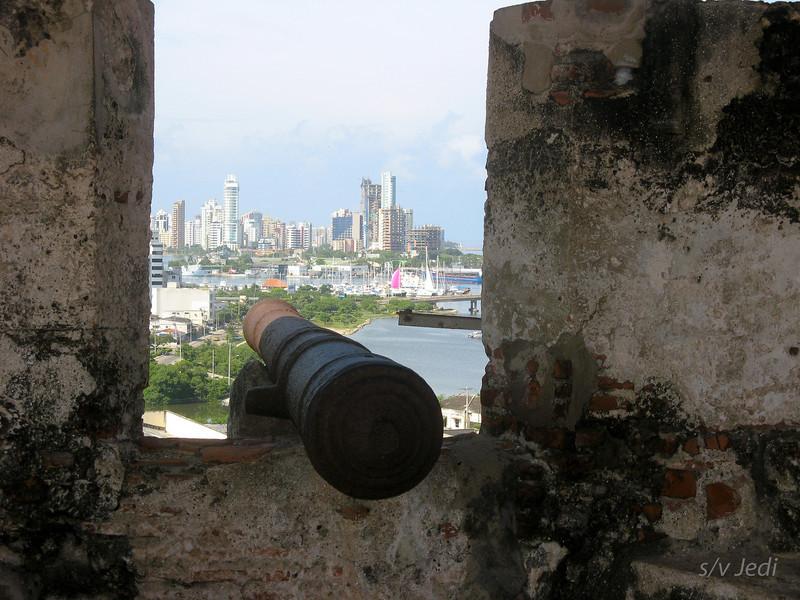 IMG_1283.JPG<br /> Cruising Colombia: Cartagena<br /> Castillo San Felipe