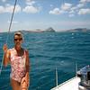 IMG_1148.JPG<br /> Cruising Colombia: Cabo de la Vela.<br /> Anna the.... deck hand ;-)
