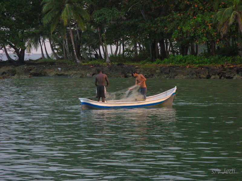 IMG_1353.JPG<br /> Cruising Colombia: Sapzurro.<br /> Local fishermen at Zapzurro.