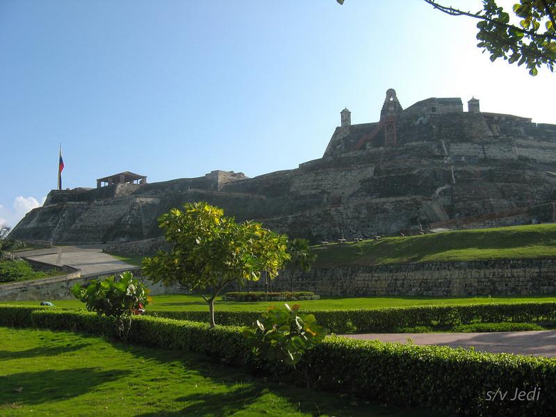 IMG_1254.JPG<br /> Cruising Colombia: Cartagena<br /> Castillo San Felipe