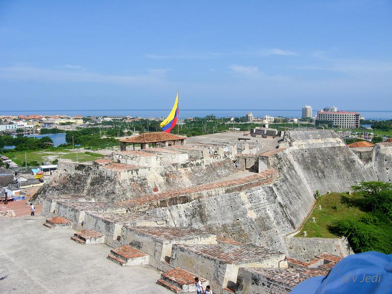 IMG_1276.JPG<br /> Cruising Colombia: Cartagena<br /> Castillo San Felipe