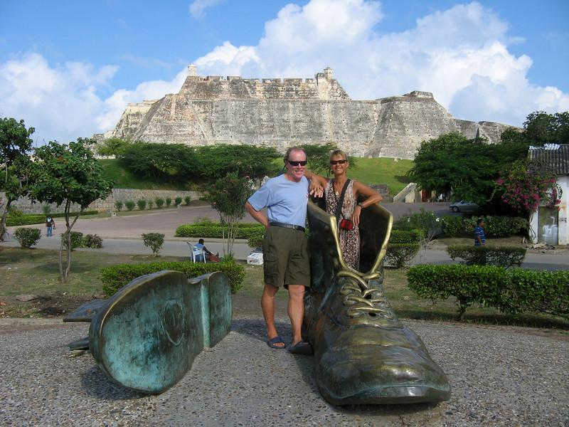 IMG_1261.JPG<br /> Cruising Colombia: Cartagena<br /> Castillo San Felipe
