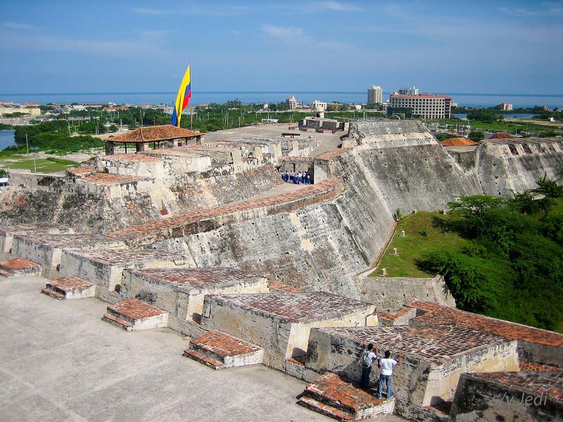 IMG_1284.jpg<br /> Cruising Colombia: Cartagena<br /> Castillo San Felipe