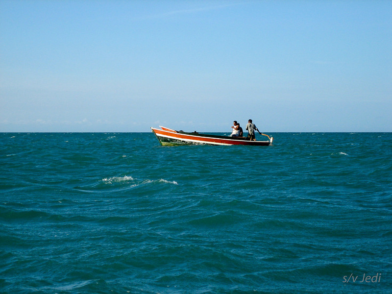 IMG_1162.JPG<br /> Cruising Colombia: Cabo de la Vela.<br /> And there's the fishermen from the village.