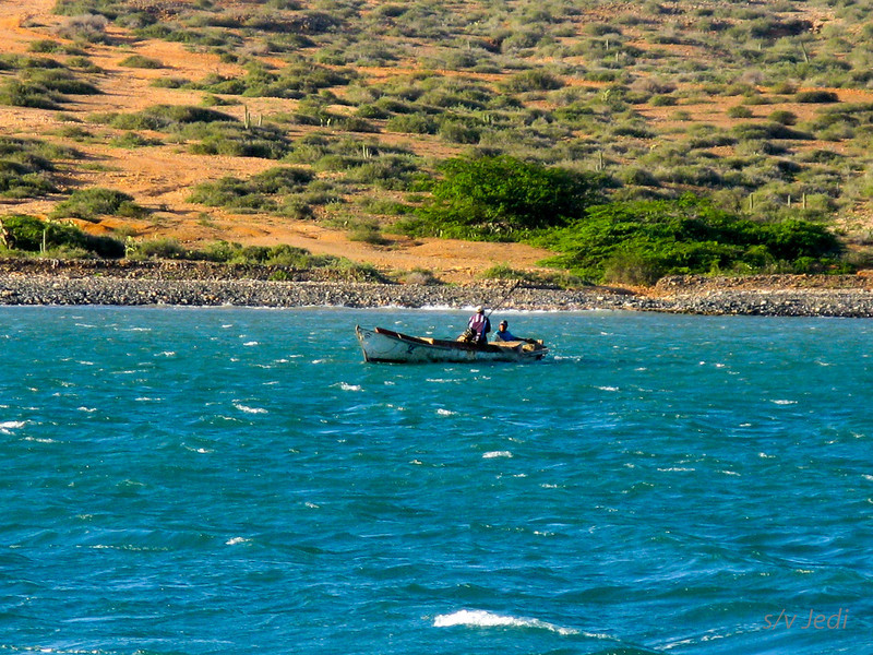 IMG_1160.JPG<br /> Cruising Colombia: Cabo de la Vela.<br /> And there's the fishermen from the village.