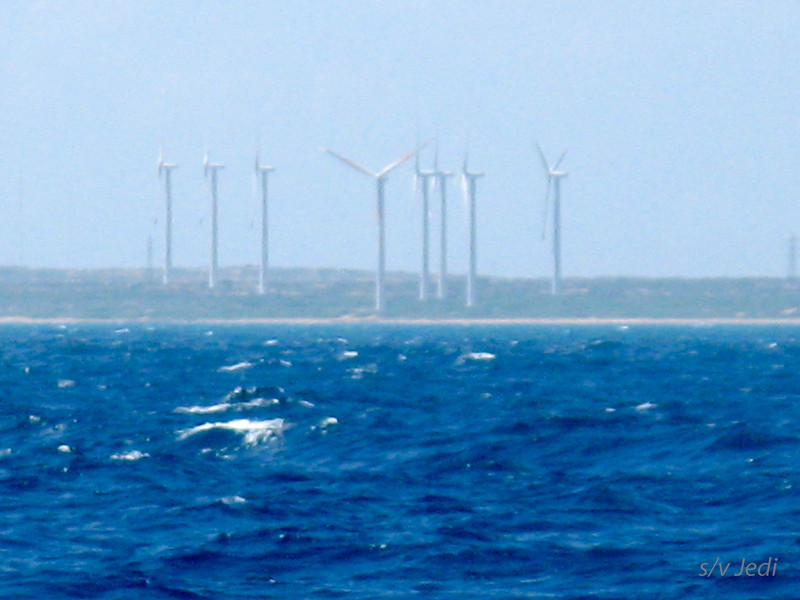 IMG_1150.JPG<br /> Cruising Colombia: Cabo de la Vela.<br /> Wind generators must be for that oil terminal because there's nothing else!