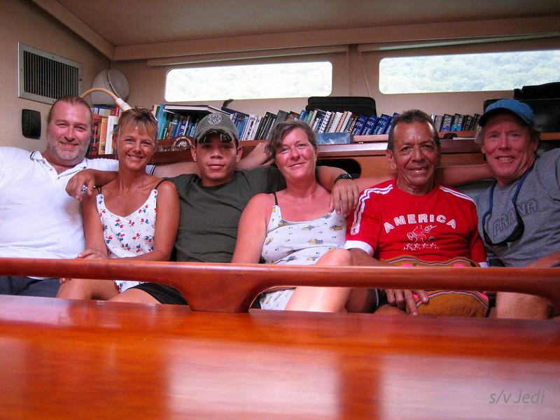 IMG_1200.JPG<br /> Cruising Colombia: Bahia Gairaca.<br /> Last get together, tomorrow we set sail again.