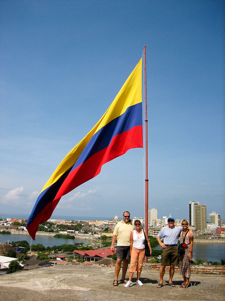 "IMG_1292.jpg<br /> Cruising Colombia: Cartagena<br /> The crews of ""Gecko"" and ""Jedi"" have conquered Castillo San Felipe."