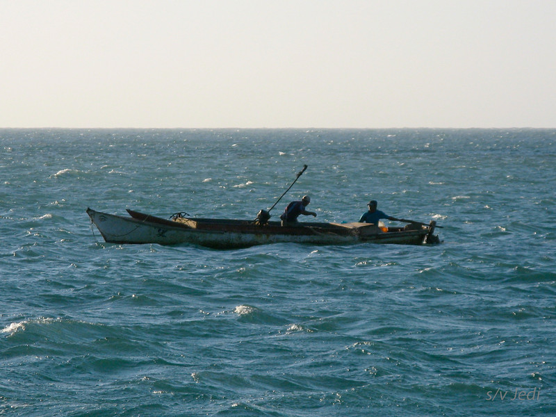 IMG_1161.JPG<br /> Cruising Colombia: Cabo de la Vela.<br /> And there's the fishermen from the village.