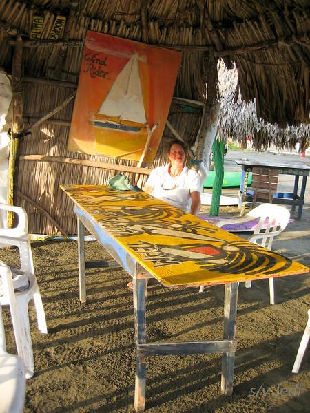 IMG_1235.jpg<br /> Cruising Colombia: Puerto Velero.<br /> Puerto Velero ashore. Nice place, the kind with Pink Floyd music!