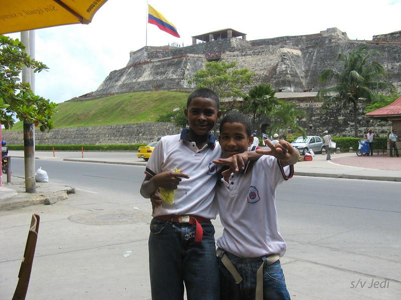 IMG_1296.JPG<br /> Cruising Colombia: Cartagena<br /> Castillo San Felipe