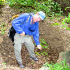 IMG_1188.JPG<br /> Cruising Colombia: Bahia Gairaca.<br /> Ian digging up an ancient grave site. There's both official excavations and treasure hunters here.