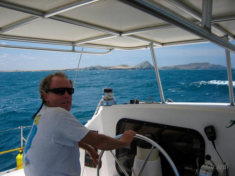 IMG_1147.JPG<br /> Cruising Colombia: Cabo de la Vela.<br /> Ian the sailorman!
