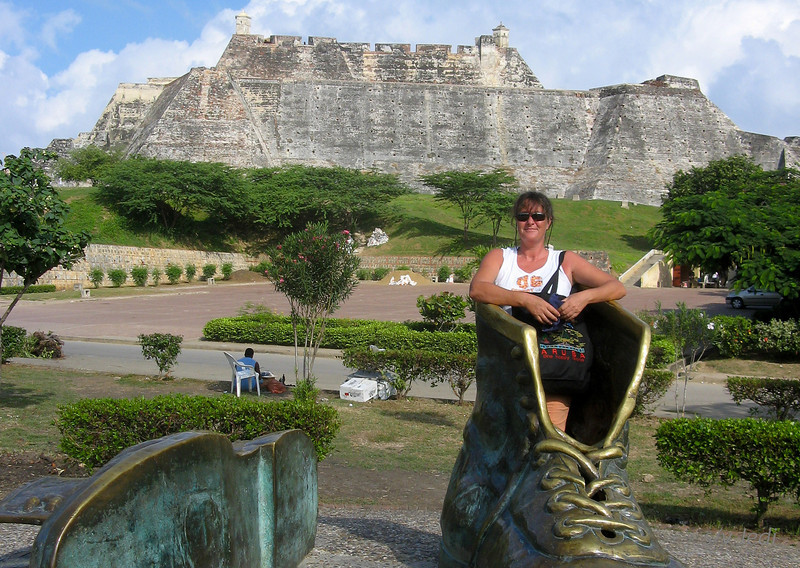 IMG_1262.JPG<br /> Cruising Colombia: Cartagena<br /> Castillo San Felipe