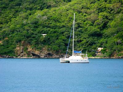 IMG_1170.JPG Cruising Colombia: Bahia Gairaca. Gecko anchored in the shallow part (still 30' deep).