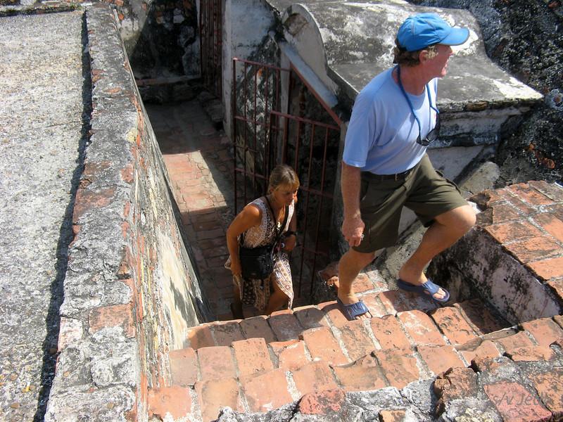 IMG_1293.JPG<br /> Cruising Colombia: Cartagena<br /> Castillo San Felipe
