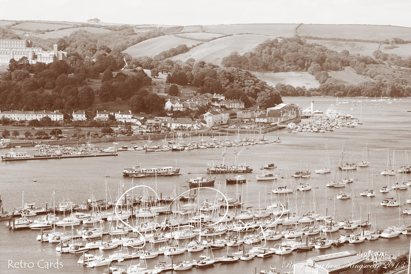 River Dart from Kingswear