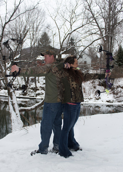 Two Avid Bowhunters