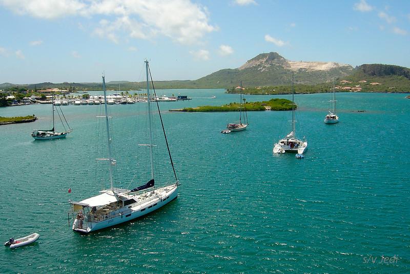 Cruising Curacao: Spaanse Water