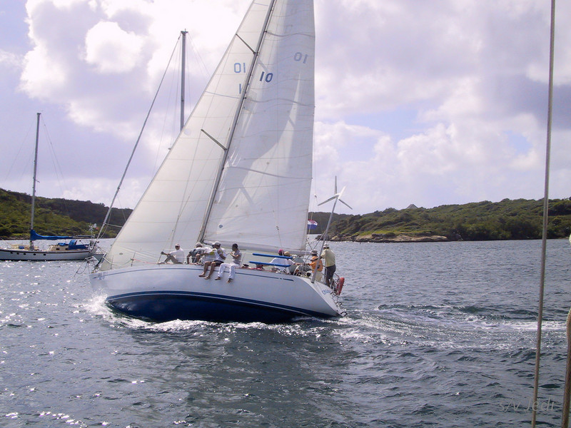 Cruising Curacao: Spaanse Water