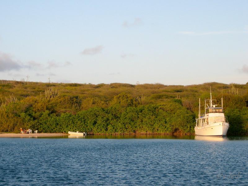 IMG_0992.jpg<br /> Cruising in Curacao.<br /> C'est la Vie on their favorite weekend spot.