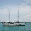 IMG_1001.jpg<br /> Cruising in Curacao.<br /> Testing and calibrating the new auto pilot