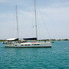 IMG_1000.jpg<br /> Cruising in Curacao.<br /> Testing and calibrating the new auto pilot