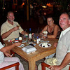 "Cruising Curacao: Spaanse Water<br /> Together with At & Dia (Angelique) we are enjoying a nice desert at ""Landhuis Brakkeput"""