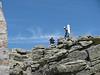 El caminante y yo junto al punto geodésico.<br /> <br /> The hiker end myself next to trig point.