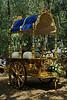 La carroza de la virgen aparcada tras la ermita<br /> <br /> The carrage used for the Virgin, parked behind the chapel.