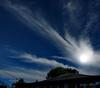 Oscurecí el cielo para añadirle 'dramatismo'.<br /> <br /> I darkened the sky to make it more  'dramatic'.