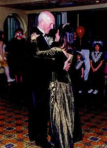 Dancing with Ngoc at wedding