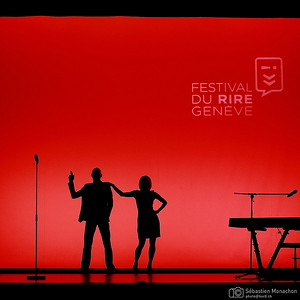 Cécile Giroud & Yann Stotz - Festival du rire de Genève - Casino-Théâtre - 26 mars 2015