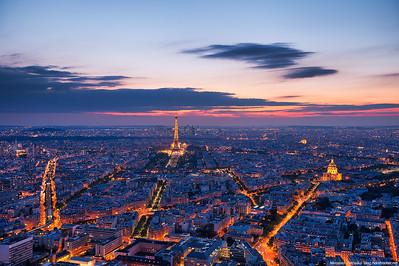 Above Paris