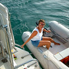 Cruising Grenada<br /> Getting from ship to shore and via versa by dinghy, what a way to travel!