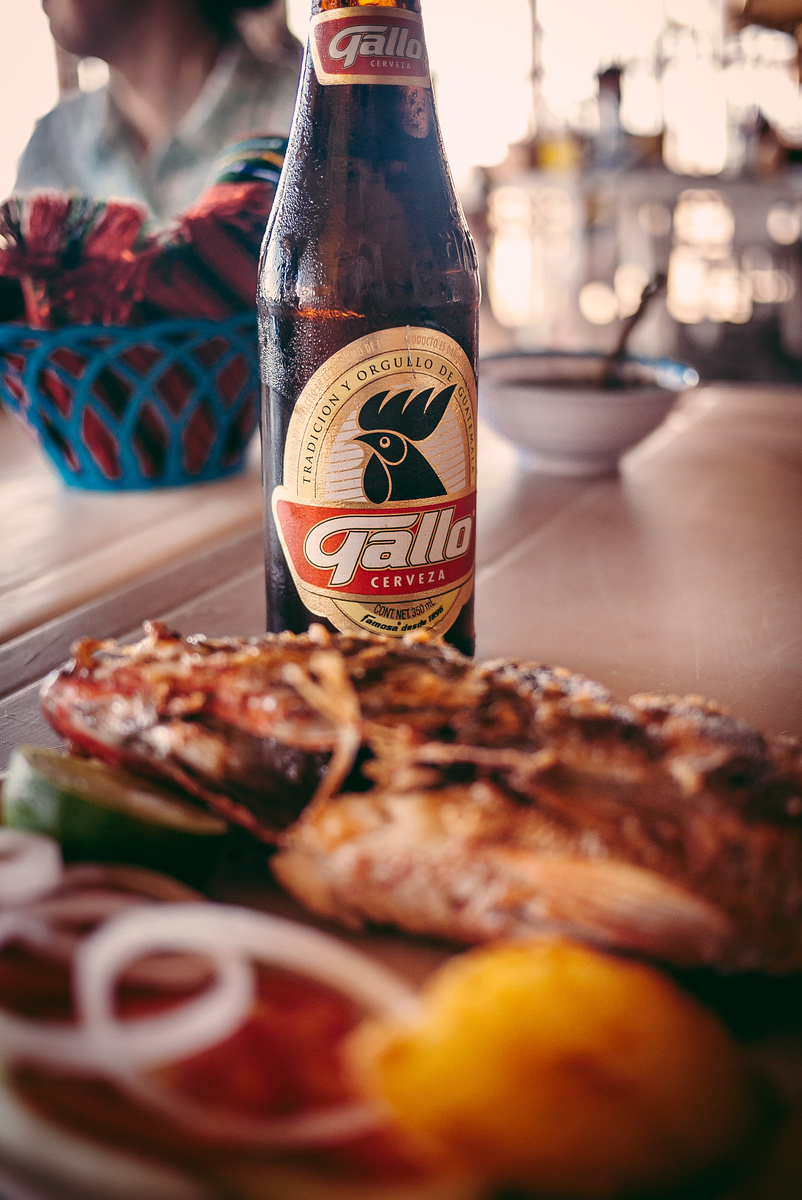 Gallo, the national cerveza of Guatemala, is nothing more than yellowish fizzy water.