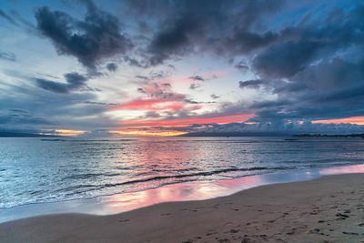 Baby Beach Sunset
