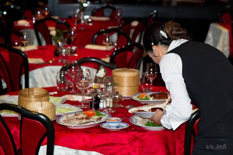 Diner bij Sjaan