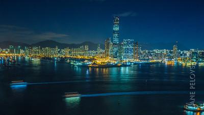 Kowloon from Central Hong Kong