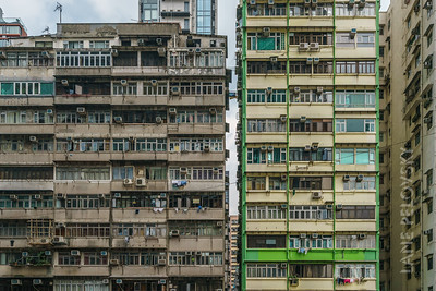 High Rises in Hong Kong
