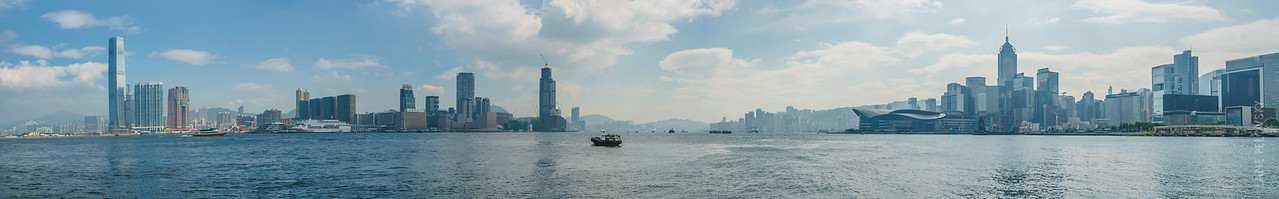 Victoria Harbour Panorama