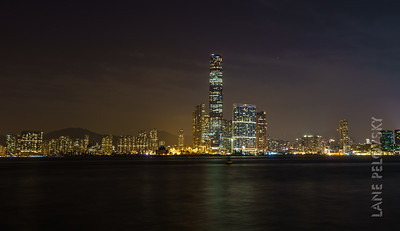 Kowloon from Hong Kong Island