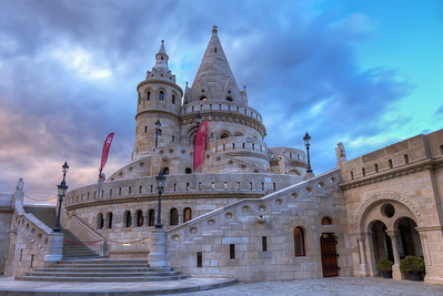 Fisherman's Bastion Too bad it was closed, but still it looked like a fairy tale castle.