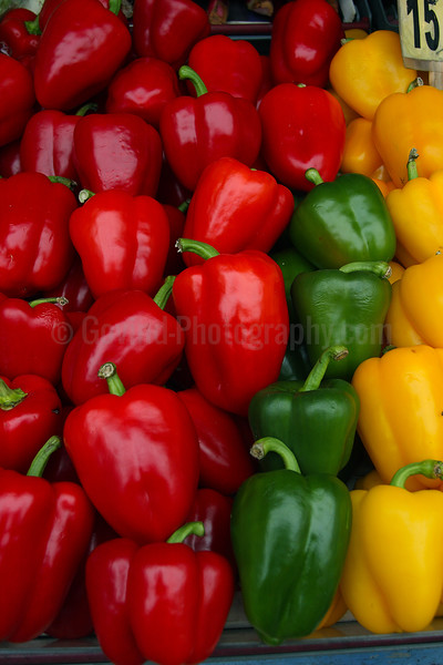 Tri-color Peppers