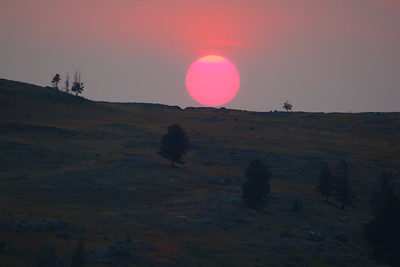 Lamar Valley Sunset