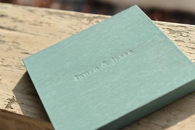 stamped linen case