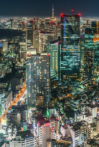 Roppongi, Asakasa and Tokyo Skytree 2
