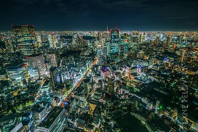 Roppongi, Asakasa and Tokyo Skytree 3
