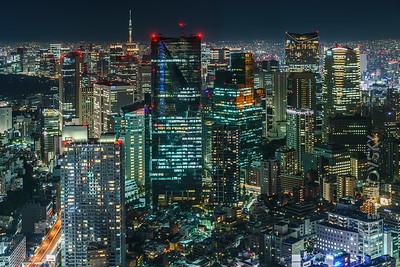 Roppongi, Asakasa and Tokyo Skytree